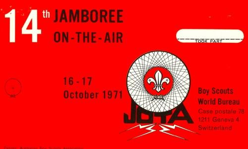 JOTA 1971 QSL