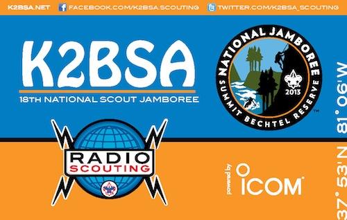 2013 Jamboree QSL