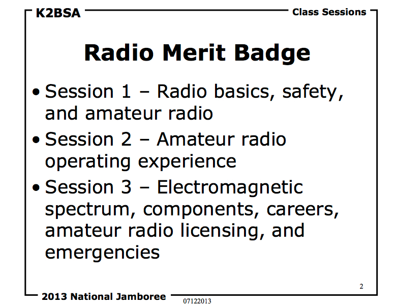 K2BSA Radio MB Overview