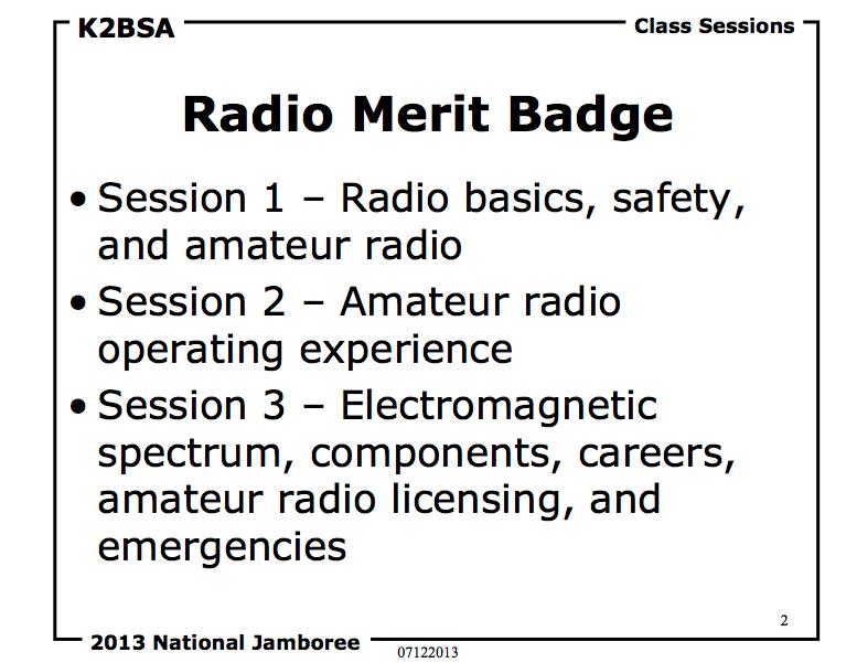 K2BSA Radio MB Overview