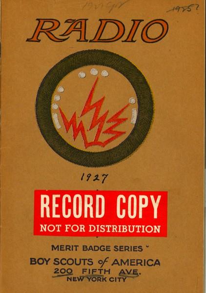 1927 Radio MBP