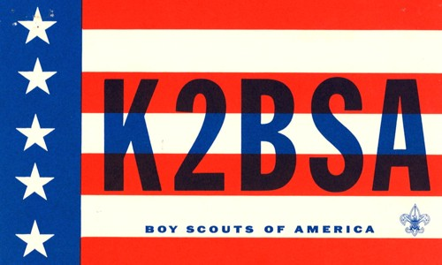 Early K2BSA QSL